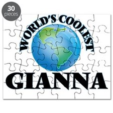 World's Coolest Gianna Puzzle