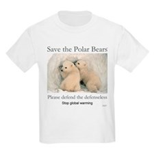 Save the polar bears copyrighted T-Shirt