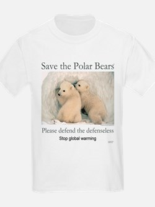 Save the polar bears copyrighted T-Shirt