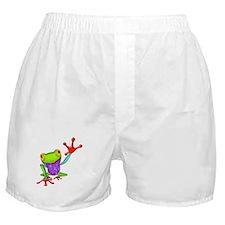 Waving Poison Dart Frog Boxer Shorts