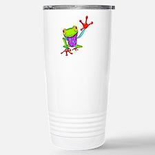 Waving Poison Dart Frog Travel Mug