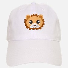 Cute Cartoon Lion Head Baseball Baseball Cap