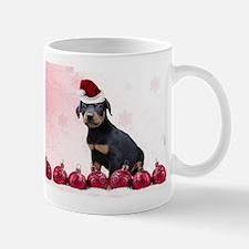Christmas Doberman Pinscher Mugs