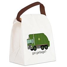 Got Garbage? Canvas Lunch Bag
