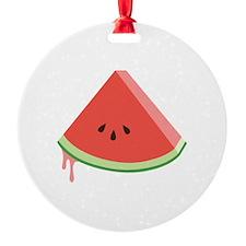 Juicy Watermelon Ornament