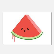 Juicy Watermelon Postcards (Package of 8)