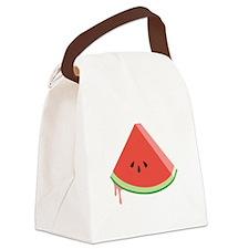 Juicy Watermelon Canvas Lunch Bag