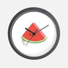 Juicy Watermelon Wall Clock