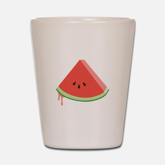 Juicy Watermelon Shot Glass