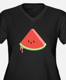 Juicy Watermelon Plus Size T-Shirt