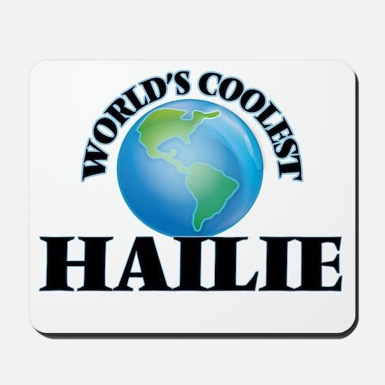 World's Coolest Hailie Mousepad