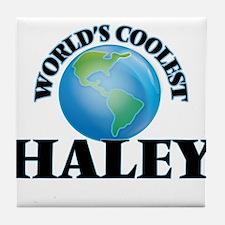 World's Coolest Haley Tile Coaster