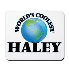 World's Coolest Haley Mousepad