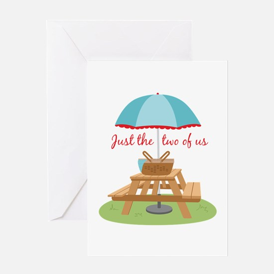 Just the Two of Us Greeting Cards