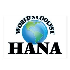 World's Coolest Hana Postcards (Package of 8)