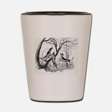 Treed Shot Glass