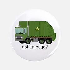 """Got Garbage? 3.5"""" Button"""