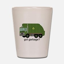 Got Garbage? Shot Glass