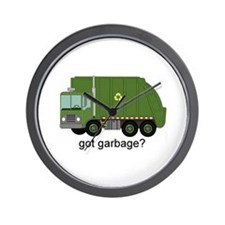 Got Garbage? Wall Clock