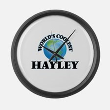 World's Coolest Hayley Large Wall Clock