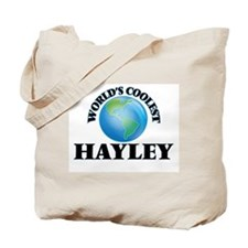 World's Coolest Hayley Tote Bag