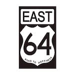 64 EAST Bumper Sticker