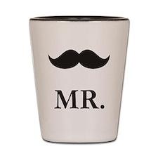 Mr. Moustache Shot Glass