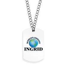 World's Coolest Ingrid Dog Tags