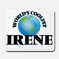 World's Coolest Irene Mousepad