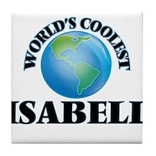 World's Coolest Isabell Tile Coaster