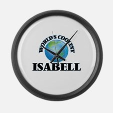 World's Coolest Isabell Large Wall Clock