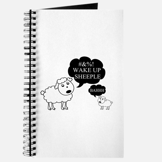 Sheep Says Wake Up Sheeple Journal