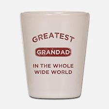 Greatest Grandad In The World Shot Glass