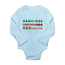 Ugly Christmas Sweater Body Suit