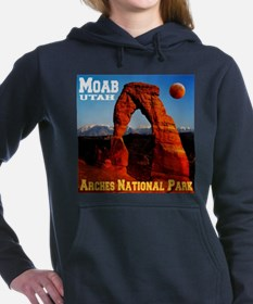 arches_np_eclipse2.png Women's Hooded Sweatshirt