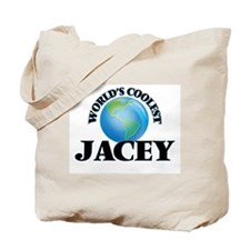World's Coolest Jacey Tote Bag