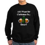 Christmas Beer Sweatshirt (dark)