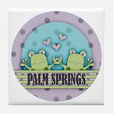 Cute Palm Springs Tile Coaster