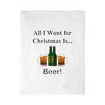 Christmas Beer Twin Duvet