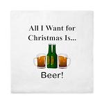 Christmas Beer Queen Duvet