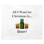 Christmas Beer King Duvet