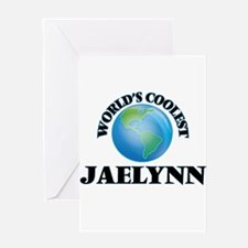 World's Coolest Jaelynn Greeting Cards