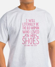 Carrie Shoe Quote Sex And The City T-Shirt