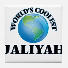 World's Coolest Jaliyah Tile Coaster