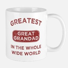 Greatest Great Grandad In The World Mug