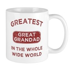 Greatest Great Grandad In The World Small Mug