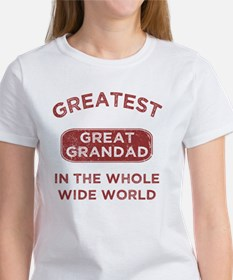 Greatest Great Grandad In The Worl Tee