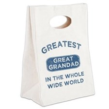 Greatest Great Grandad In The Wo Canvas Lunch Tote