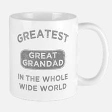 Greatest Great Grandad In The World Small Small Mug