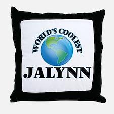 World's Coolest Jalynn Throw Pillow